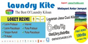 Laundry kite Brosur
